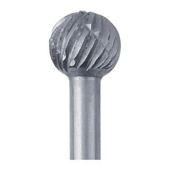 High-Speed Steel Round Bur, 5.4mm |Sold by Each| 345523