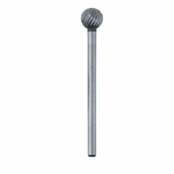 High-Speed Steel Round Bur, 5.9mm |Sold by Each| 345525