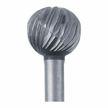 High-Speed Steel Round Bur, 6.3mm |Sold by Each| 345526