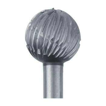 High-Speed Steel Round Bur, 6.7mm |Sold by Each| 345527