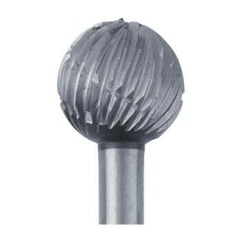 High-Speed Steel Round Bur, 6.7mm |Sold by Each| 345527