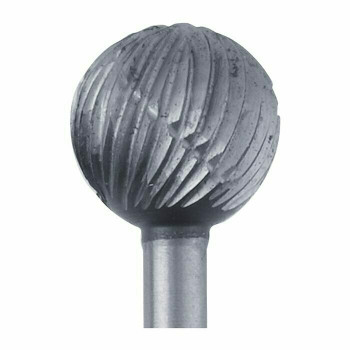 High-Speed Steel Round Bur, 7.2mm |Sold by Each| 345528