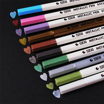 STA Metallic Pen | Light Silver | 6925137835568