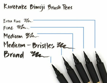 Bimoji Calligraphy Brush Pen | Medium | H193428