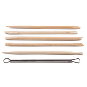 Bamboo Clay Pottery Tool Set of 6 | CD13S