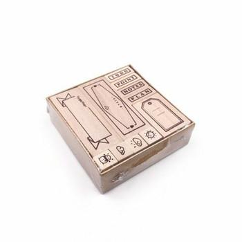 Planer Stamp Set of 11   JDSS11