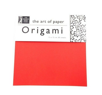 Origami Paper Pack | Solid Colours | 80 Sheet | 6 x 6"
