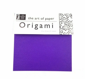 Origami Paper Pack | Solid Colours | 27 Sheets  | 6 x 6 "