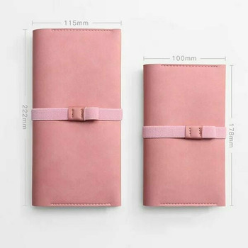 Traveller's Notebook and Sketchbook with Leather Cover | Pink Small | TVLS.P