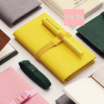 Traveller's Notebook and Sketchbook with Leather Cover | Yellow Large | TVLL.Y