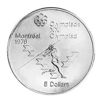 Assorted $5 Montreal Olympic Sterling Silver Coin | SGB4901