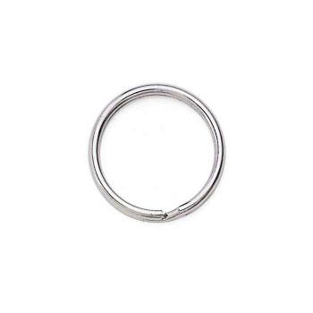Base Metal Split Ring Key Ring 24mm | Sold By 2pc | Bulk Prc Avlb| 631183
