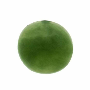 Jade 5mm Round Cabochon, Sold By each | 67722