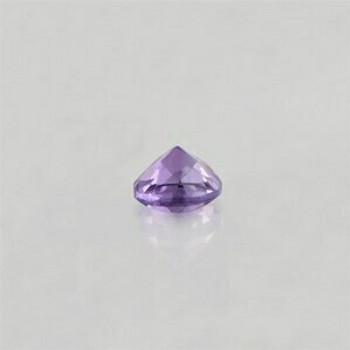 5x5x3.5 mm Round Eye Clean Purple Amethyst, Sold By each | RG023