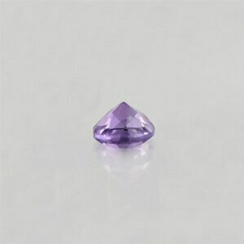 5x5x3.5 mm Round Eye Clean Purple Amethyst, Sold By each | RG023