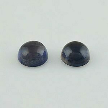 6x6x3.5 mm Round Blue Iolite, Sold By each | RG008