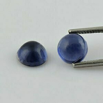 7x7x4.2 mm Round Blue Iolite  Close, Sold By each | RG010