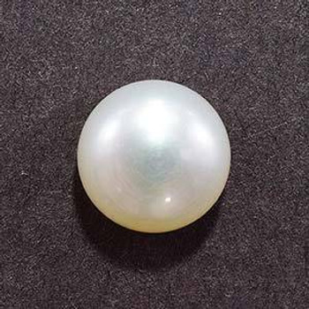 7x7x4.3 mm Round White Pearl, Sold By each | RG003
