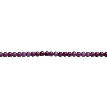 Ruby 6mm Round Bead  |Sold by 1Pc| 73927