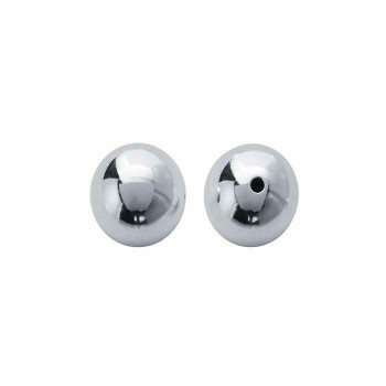 Sterling Silver 19mm Round Bead | Sold By Each | 614153/EA