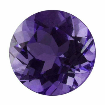 Royal Amethyst 4mm Round Faceted Stone, AAA-Grade Sold By each | 67236