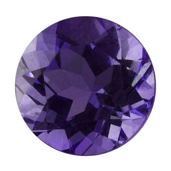 Royal Amethyst 3mm Round Faceted Stone, AAA-Grade Sold By each | 67235