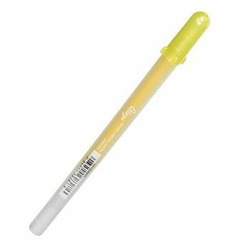 Sakura Glaze Gel Pen | #803 Gloss Yellow | 084511383876