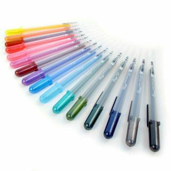 Sakura Glaze Gel Pen | #825 Gloss Light Blue | 084511384873