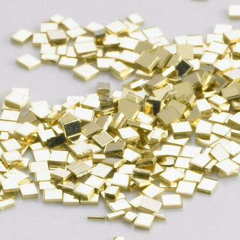 14K Plumb Yellow Gold Chip Solder | Medium | Sold by 0.1g | around 30 pieces | Bulk Prc Avlb | 600826