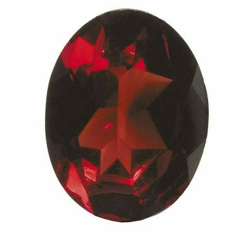 Garnet 7 x 5mm Oval Faceted Stone, AA-Grade, AA-Grade | 67118