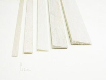 "Balsa wood, Trailing edge, 1/2 x 2 x 48"", Sold By Each | BSTE4801"
