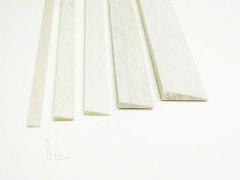 "Balsa wood, Trailing edge, 3/16 x 3/4 x 48"", Sold By Each | BSTE4804"