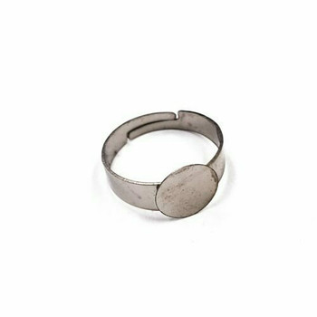 Base Metal Ring Blank | Sold by pc | XZ233
