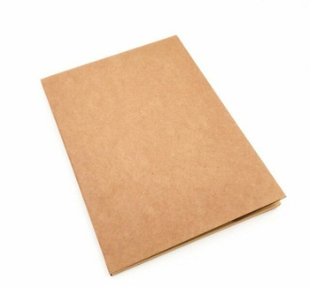 Blank Sketch Book Brown Paper 190x265 100gram 132Pg | CNB16B
