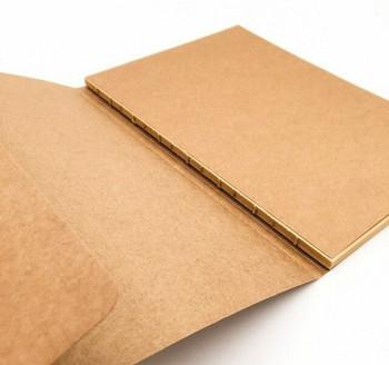 Blank Sketch Book Brown Paper 190x265 100gram 132Pg   CNB16B