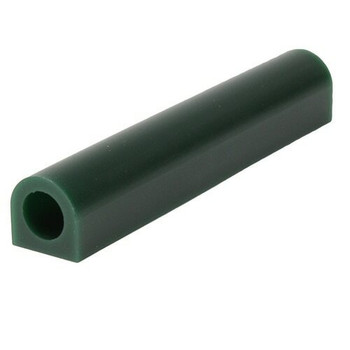 "Ferris Wax Ring Tube, Flat Side With Hole, Green | 1"" x 1"" 
