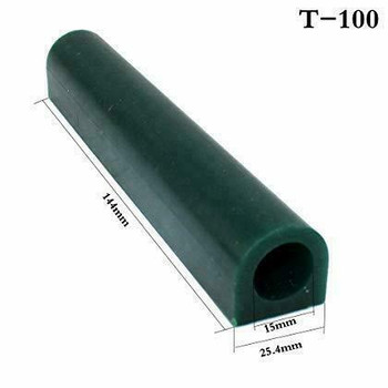 Ferris Wax Ring Tube, Flat Side With Hole, Green | 2.5x2.8cm | G.T100