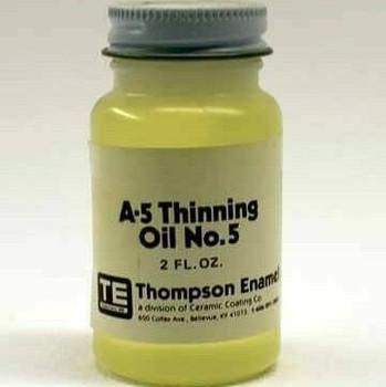 A-5 Overglaze Painting Thinning Oil  | 2 oz | TA05