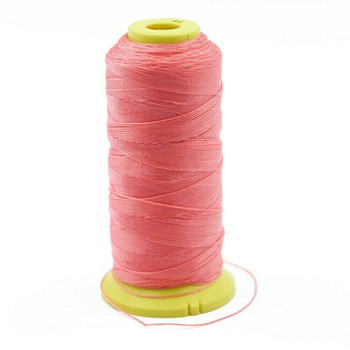 Nylon Cord | #9 (0.75mm) | Coral Pink | Sold by 450m Spool | NL0903