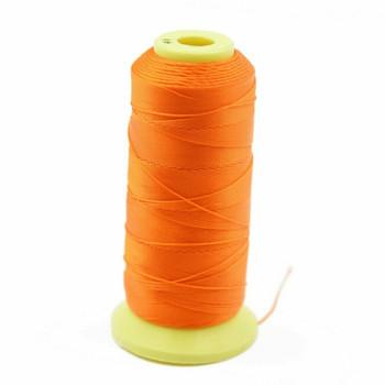 Nylon Cord | #9 ( 0.75mm)  | Orange | Sold by 450m Spool | NL0906