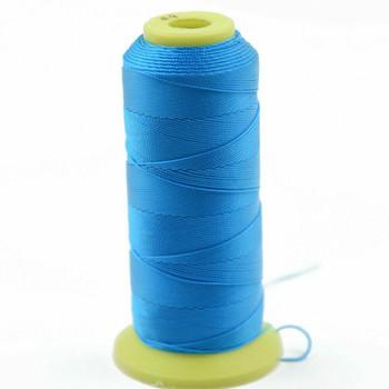 Nylon Cord | #9 (0.75mm) | Azure Blue | Sold by 450m Spool | NL0912