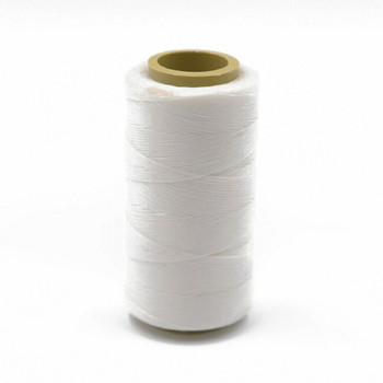 Nylon Cord Coated in Wax 1 mm | White | Sold by Ft | NW1001
