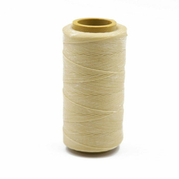 Nylon Cord Coated in Wax 1 mm   Tan   Sold by Ft   NW1002
