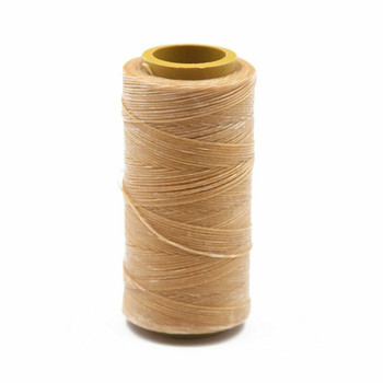 Nylon Cord Coated in Wax 1 mm   Caramel   Sold by Ft   NW1003