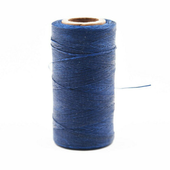 Nylon Cord Coated in Wax 1 mm | Navy Blue | Sold by Ft | NW1007