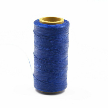 Nylon Cord Coated in Wax 1 mm | Cobalt Blue | Sold by Ft | NW1008
