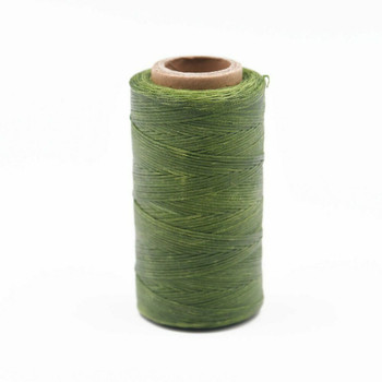 Nylon Cord Coated in Wax 1 mm | Olive | Sold by Ft | NW1011