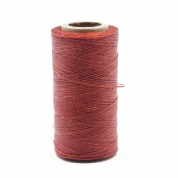 Nylon Cord Coated in Wax 1 mm | Red | Sold by Ft | NW1014