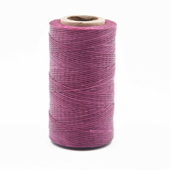 Nylon Cord Coated in Wax 1 mm | Pink | Sold by Ft | NW1015