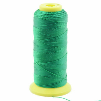 Nylon Cord | #9 (0.75mm) | Green | Sold by Foot | NL0910F